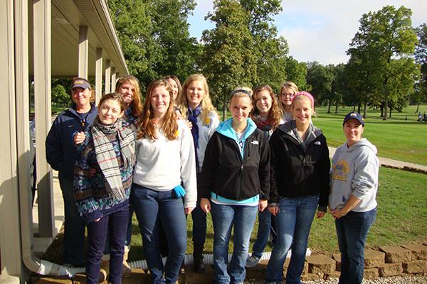 Delcom2011-12 Student Volunteers